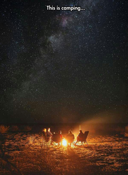 cool-camping-fire-beach-stars