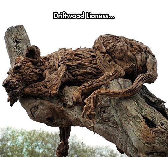 Lioness Sculpture