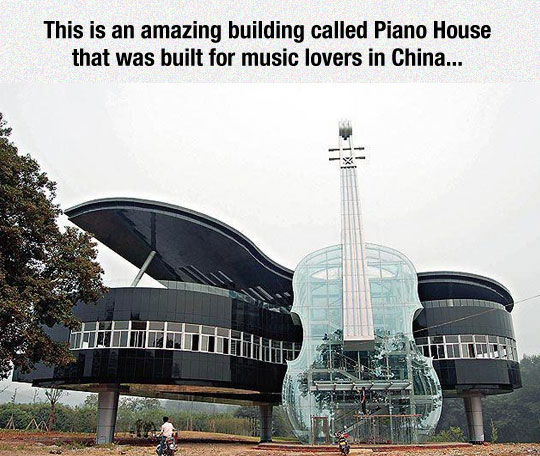 The Beautiful Piano House