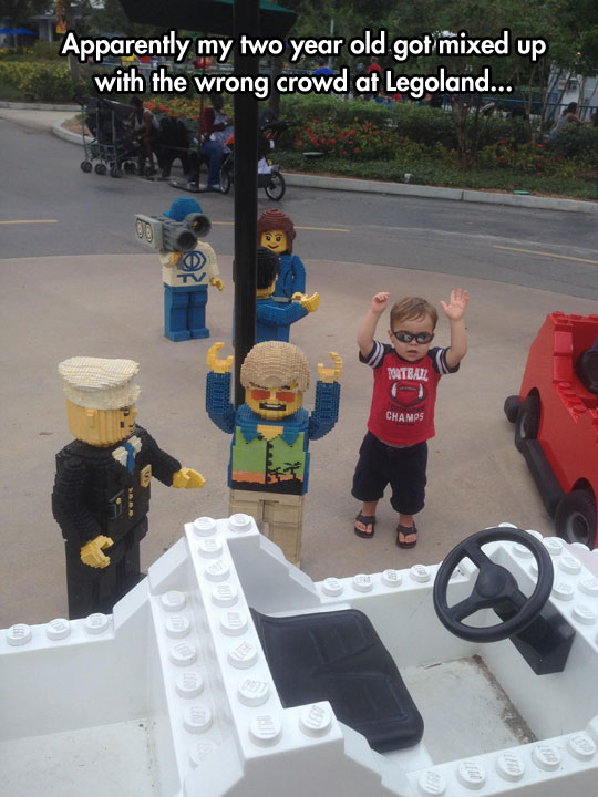 cute-kid-LEGO-Land-police-toy
