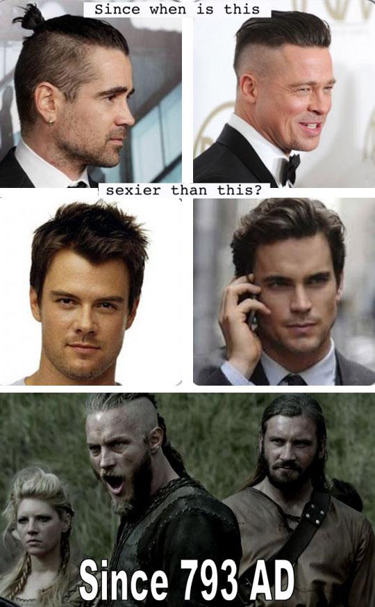funny-Brad-Pitt-haircut-cool-vikings