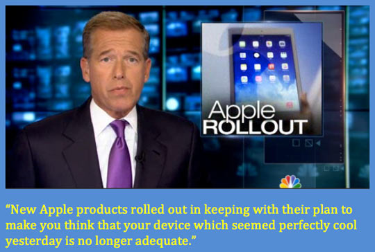 Brian Williams understands Apple…