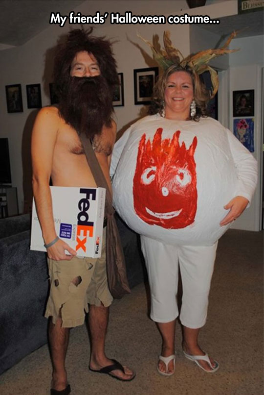 Cast Away Costume
