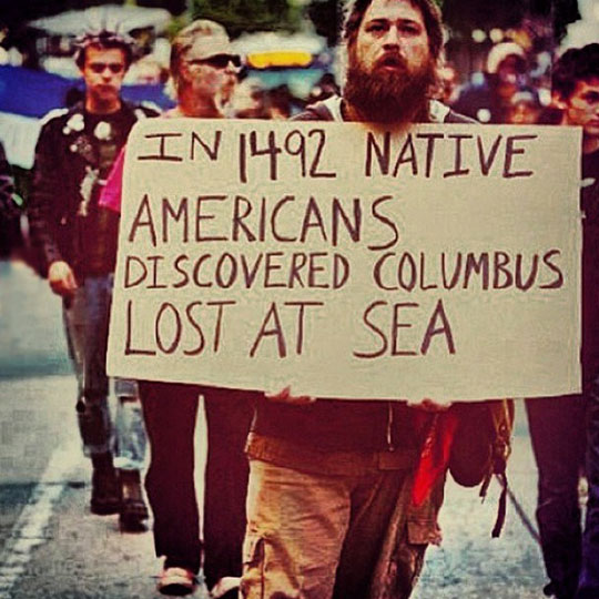 funny-Columbus-day-sign-protest