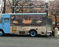 Emo Pizza Puns Are Inevitable