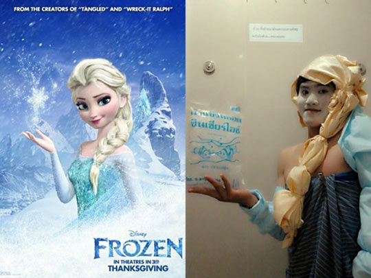 Best Elsa Cosplay I