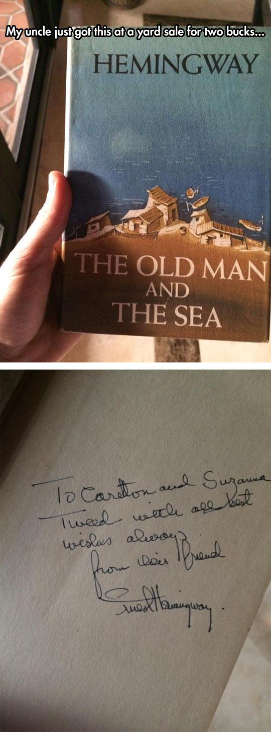 funny-Hemingway-book-yard-sale