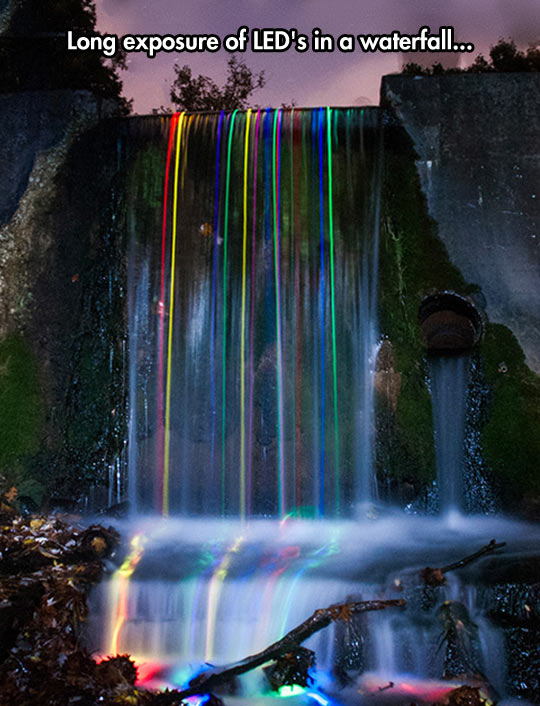 LED Waterfall