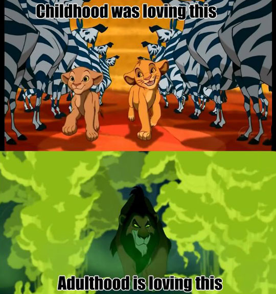 The Difference Between Childhood And Adulthood