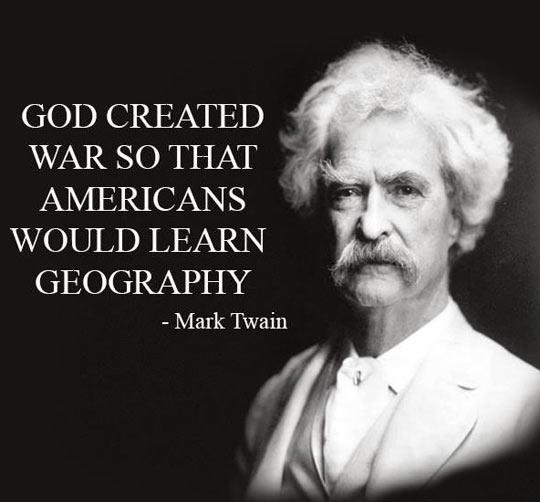Mark Twain Said It Best