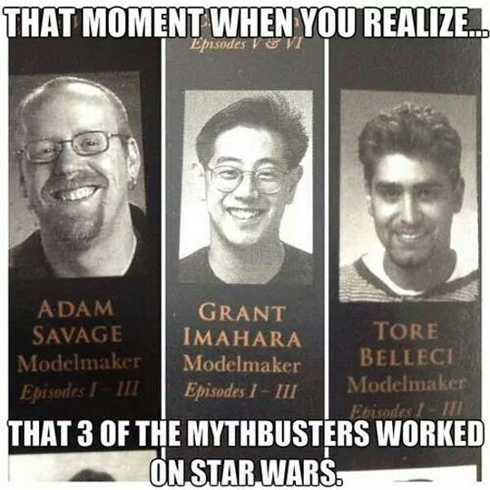 For Mythbusters
