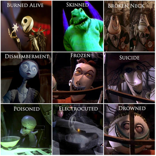 Nightmare Before Christmas Memes Funny.The Nightmare Before Christmas How They Died
