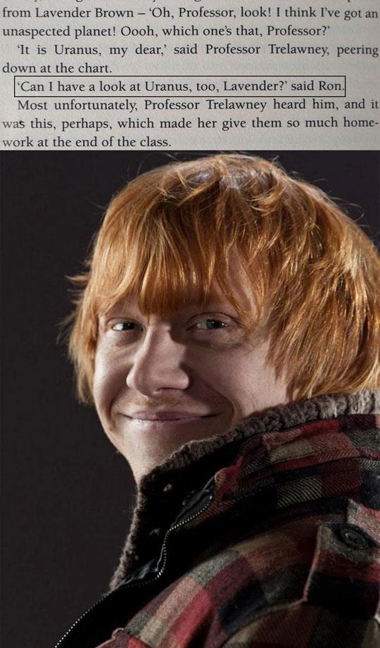Ladies And Gentlemen, Ronald Weasley