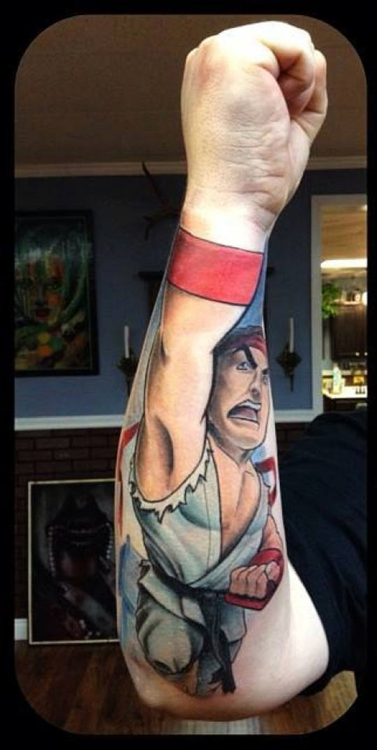 Shoryuken Tattoo