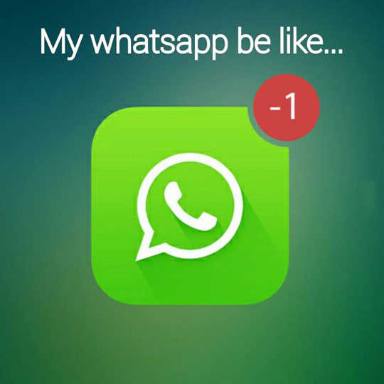 funny-Whatsapp-notification-none-alone
