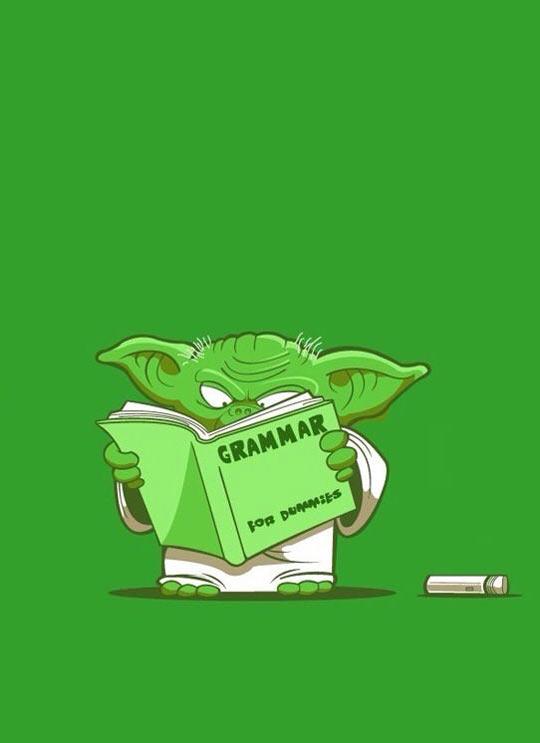 Yoda Trying To Speak Correctly