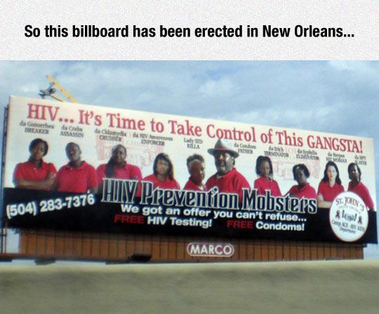 funny-billboard-HIV-mobster-New-Orleans