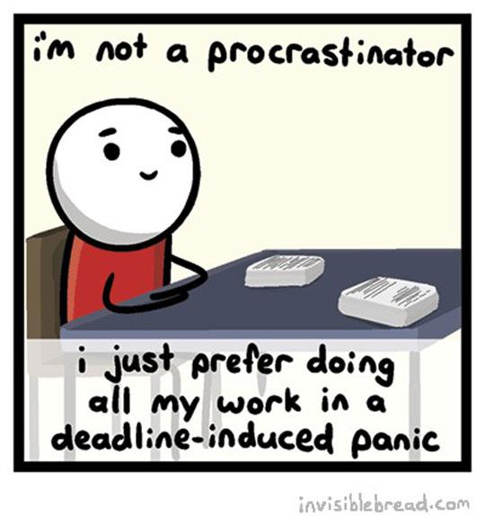 funny-cartoon-procrastinate-panic-deadline