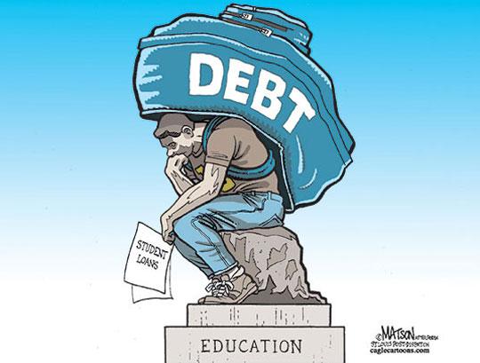 funny-cartoon-thinker-student-loan