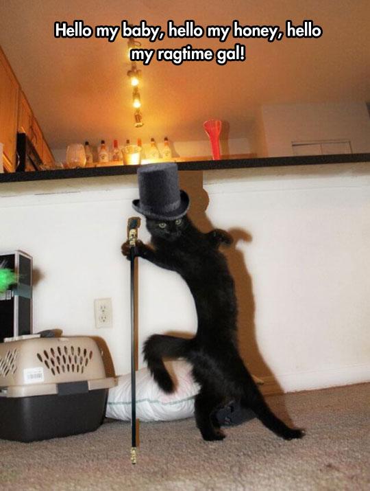 He Dances When No One Is Looking