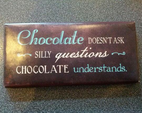 Never Deny Chocolate