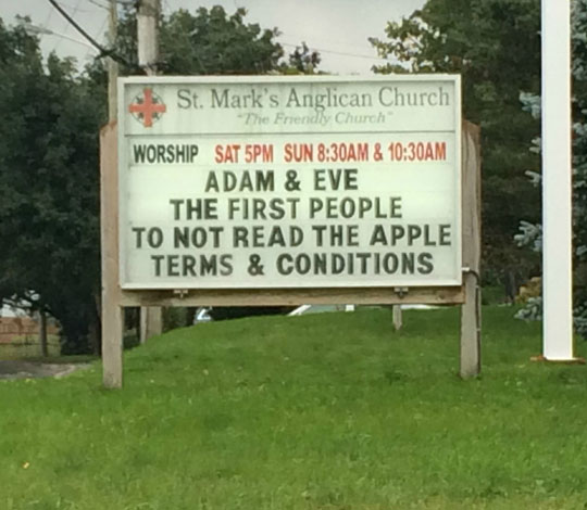 funny-church-sign-apple-terms-conditions