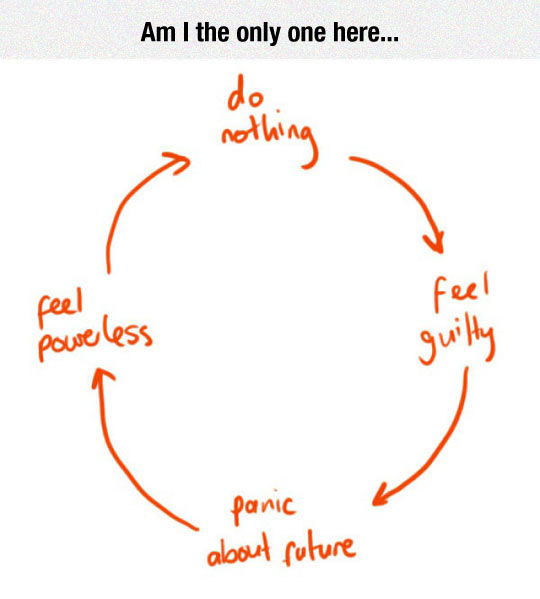funny-circle-of-never-doing-nothing
