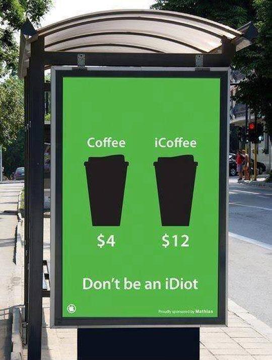 Normal Coffee Vs. iCoffee