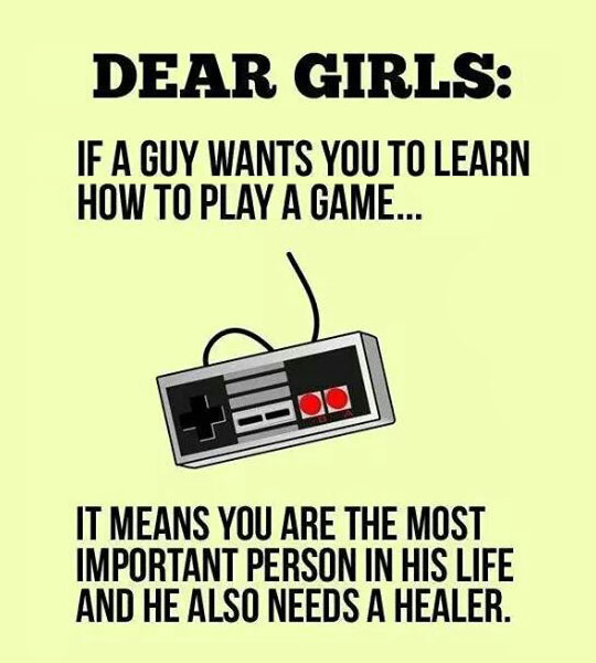 To Every Non-Gamer Girl Out There
