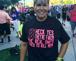Cancer Survivor Takes Life With A Little Humor