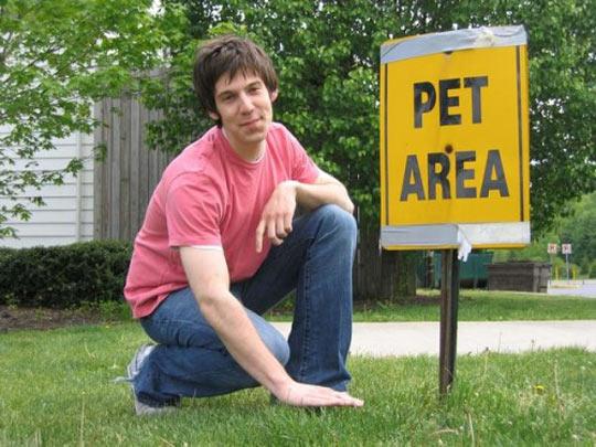 Pet Area Indeed