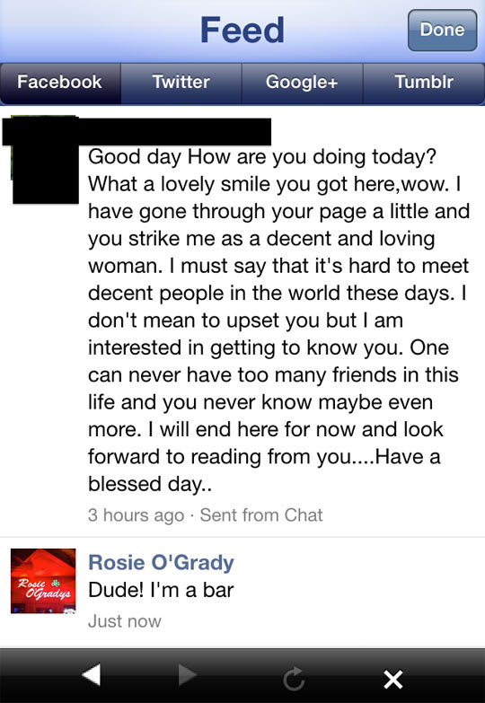 Some People On Facebook Are Really Needy