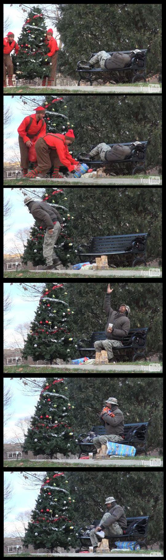 funny-homeless-Christmas-tree-gift