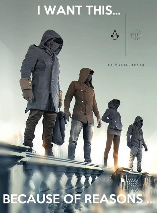 Assassins Creed Clothing