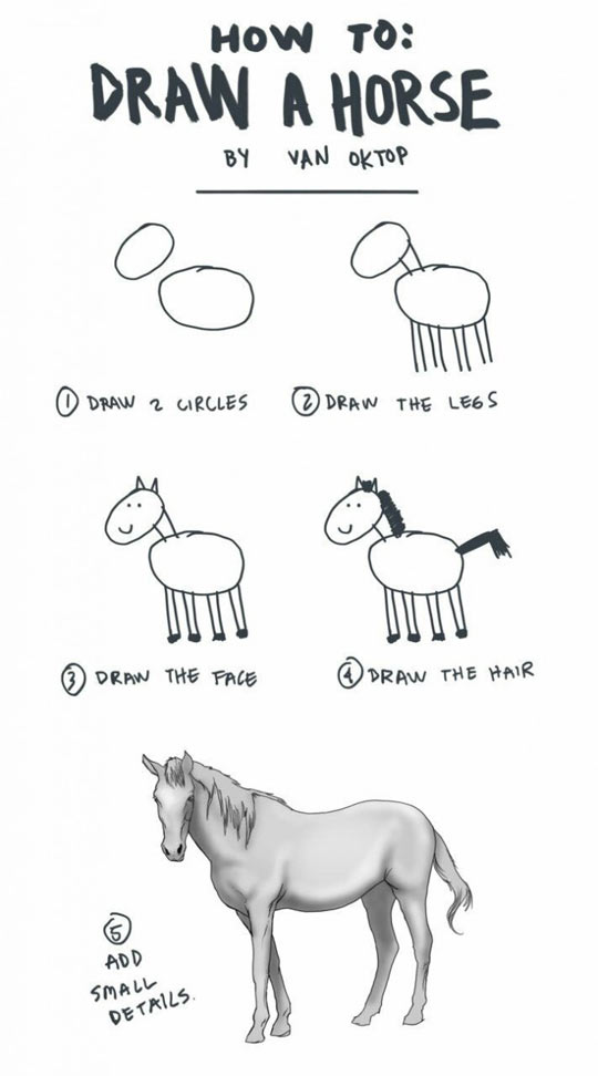 funny-how-draw-horse-tips