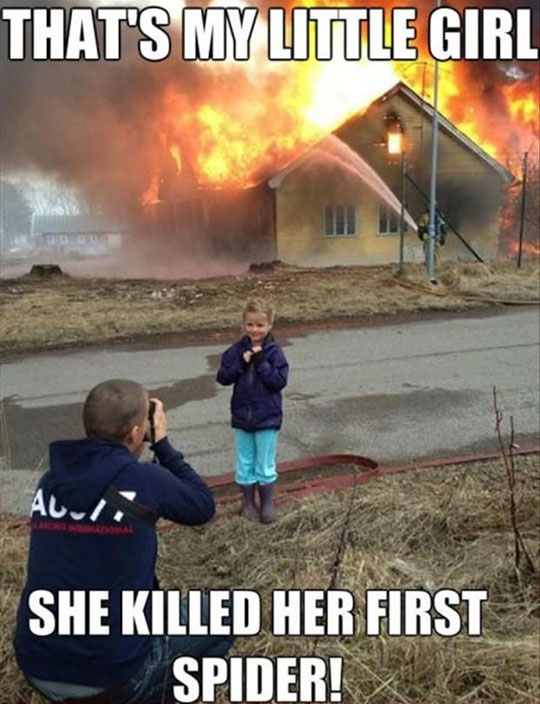 funny-little-girl-burning-house