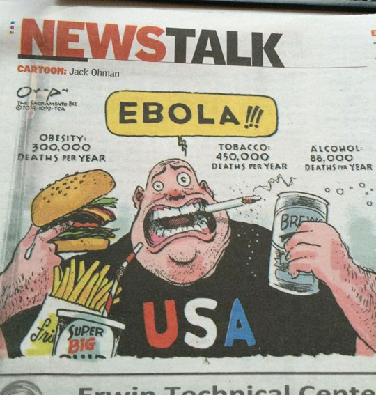 People Worried About Ebola