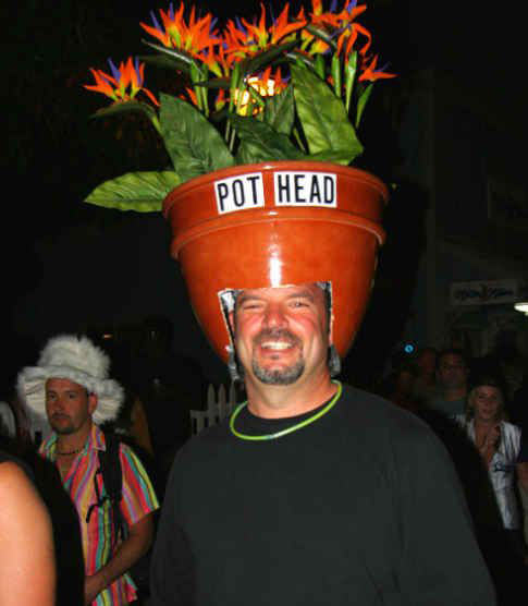 A true pot head…