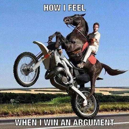 funny-rider-horse-bike-one-wheel