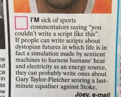Sick Of Sports Commentators