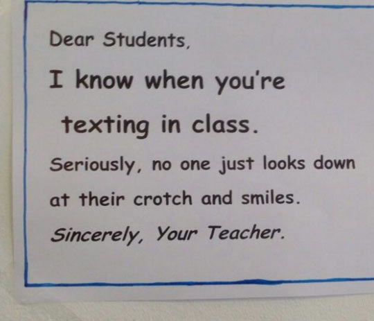 funny-students-texting-class-teacher