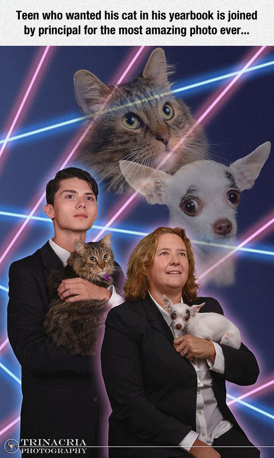 The Most Amazing Yearbook Photo Ever