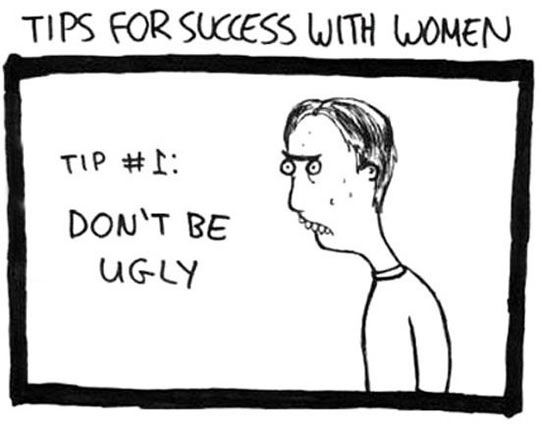 funny-tip-success-women-ugly