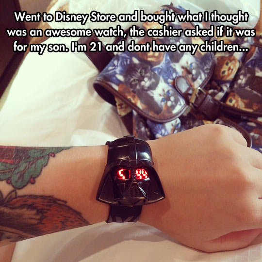 funny-watch-Darth-Vader-Disney