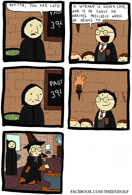 funny-webcomic-Snape-Harry-Potter-late
