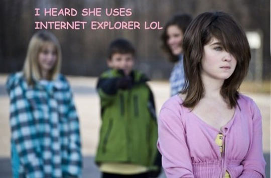 funny-weird-girl-kids-bullying-Internet-Explorer