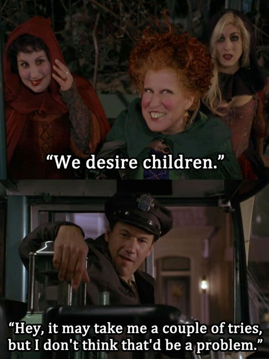 Never Caught Onto This One When Watching Hocus Pocus As A Kid