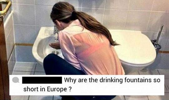 funny-woman-bathroom-bidet-fountain