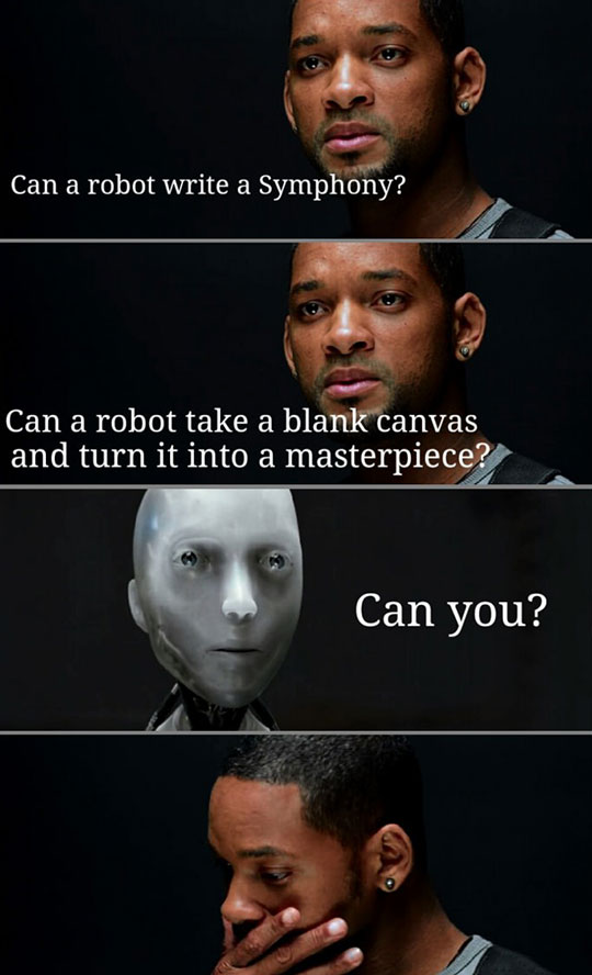 One Of My Favorite Scenes From I, Robot