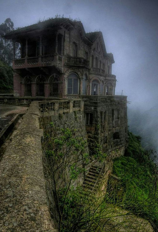 Abandoned And Beautiful House On The Hill